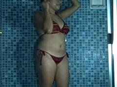 There is no thing hotter than watching a bigtits Oriental amateur slut playing with her huge knockers during the time that this hottie is all wet in her shower. Not merely will u watch this hottie playing with those lovely jugs of hers, u will too that hottie her having a sexy masturbation shaggy snatch session too!